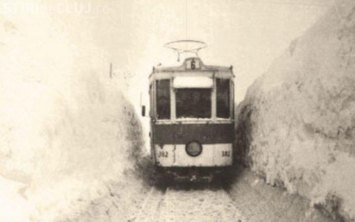 Care a fost cea mai cruntă iarnă din București! La marele viscol din '54 zăpada avea 5 metri - FOTO