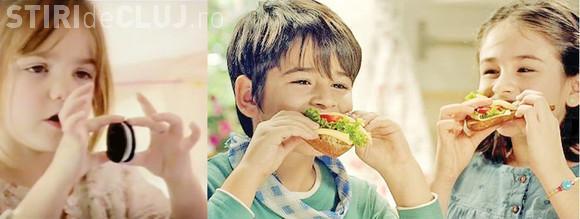 Minorii nu mai au ce căuta în reclamele TV la alimente