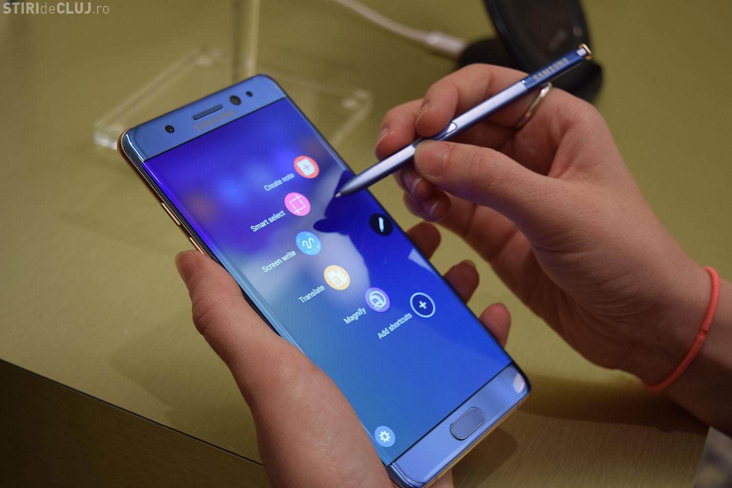 Samsung a explicat care a fost cauza incidentelor Note 7