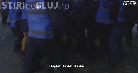 Ofițer acoperit, bătut de jandarmi la protestul din București VIDEO