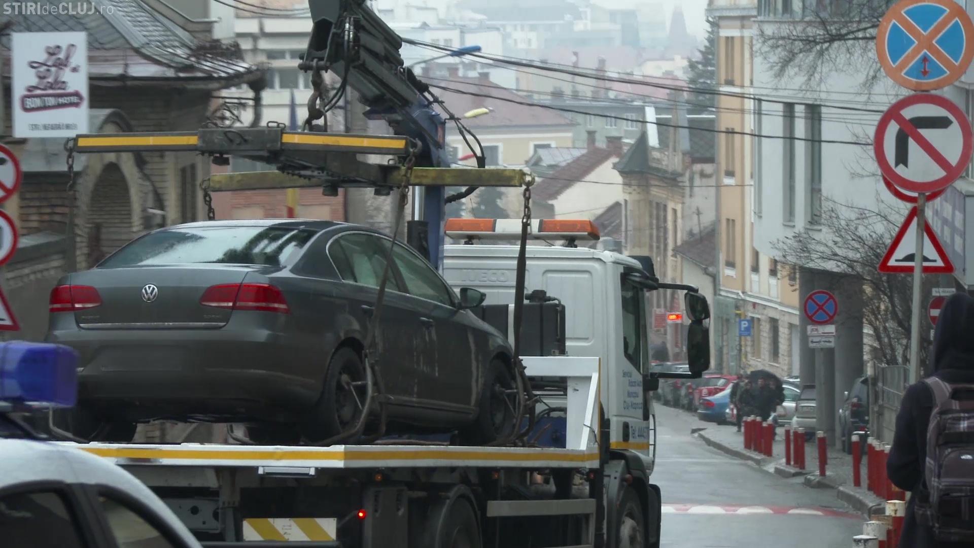 S-au ridicat primele mașini din Cluj-Napoca - VIDEO