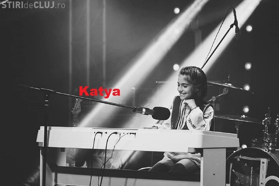După Andra, Clujul are în pregătire un nou talent REAL! Katya, o elevă de 10 ani, compune melodii și câștigă concursuri - VIDEO
