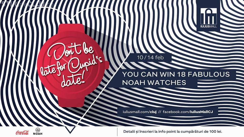 Competiție specială pentru îndrăgostiți, de Valentine's Day, la Iulius Mall Cluj. Țintește premiile pentru tine și perechea ta (P)