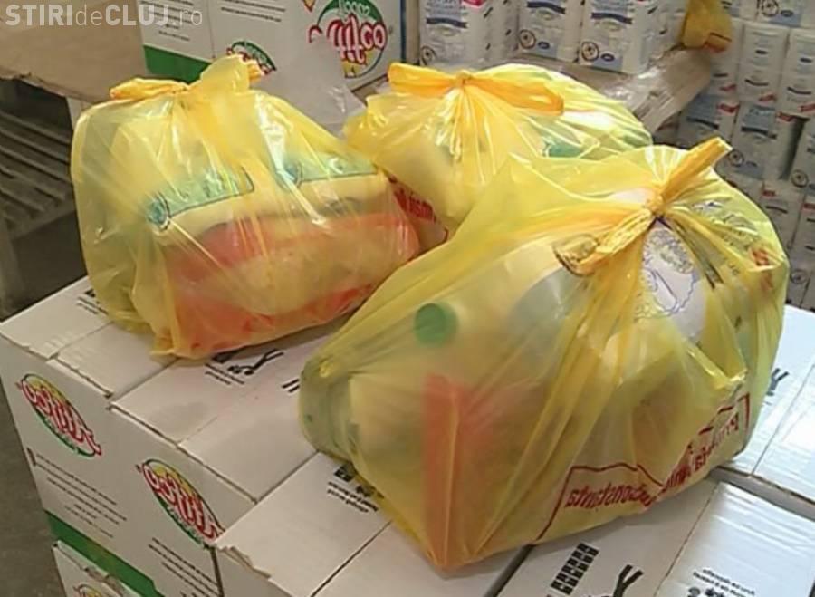 Clujenii mai au la dispoziție o săptămână pentru a-și ridica pachetele cu alimente de bază