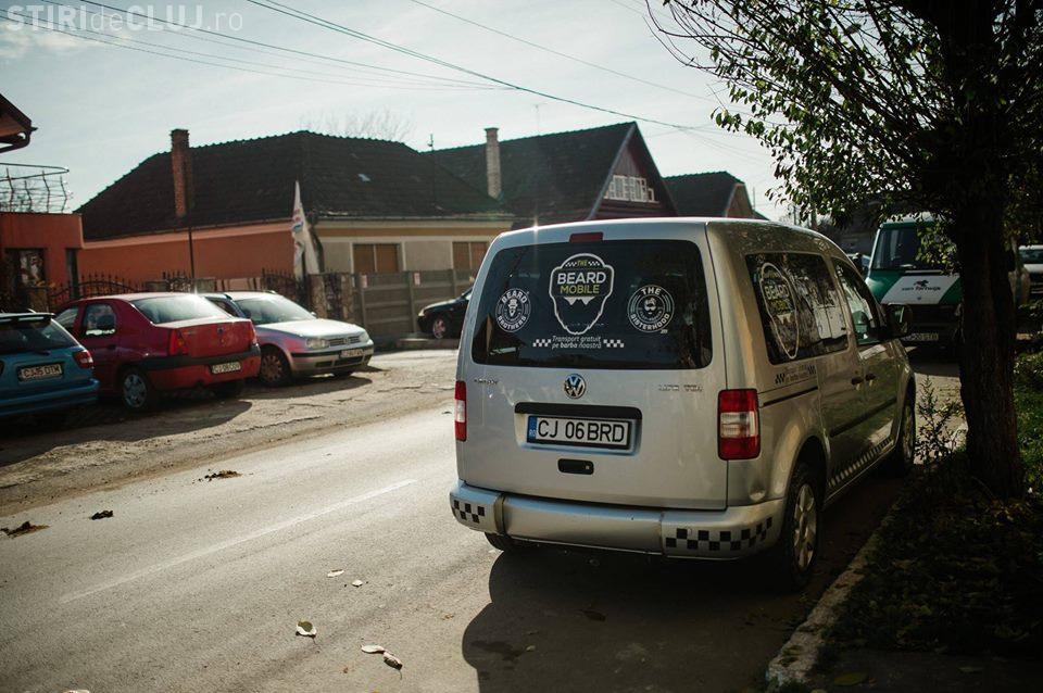 Beard Brothers Cluj a pus în funcțiune primul taxi gratuit pentru persoanele cu dizabilitati