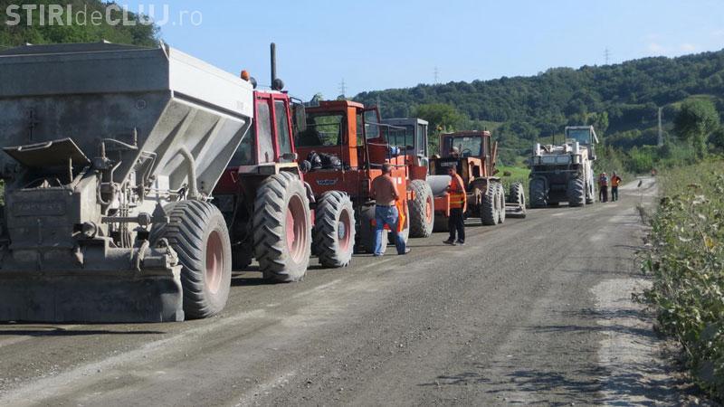 Patru drumuri din județul Cluj ar putea intra în reabilitare