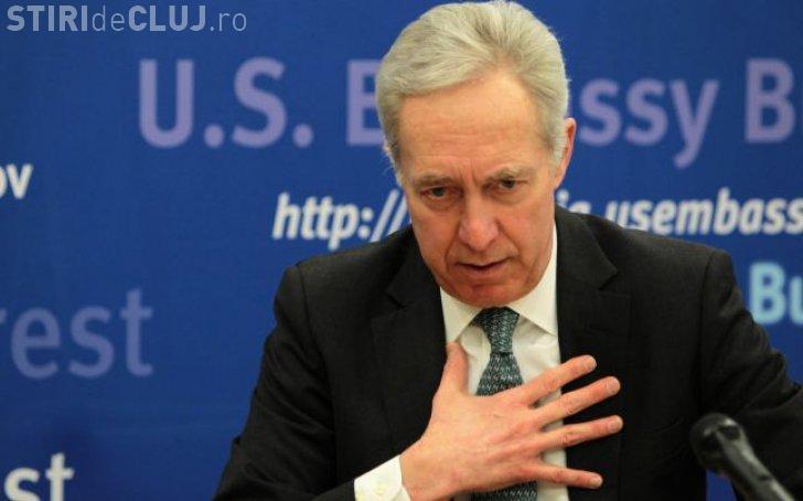 Ambasada SUA către Teodor: Prețuim dialogul cu publicul din România