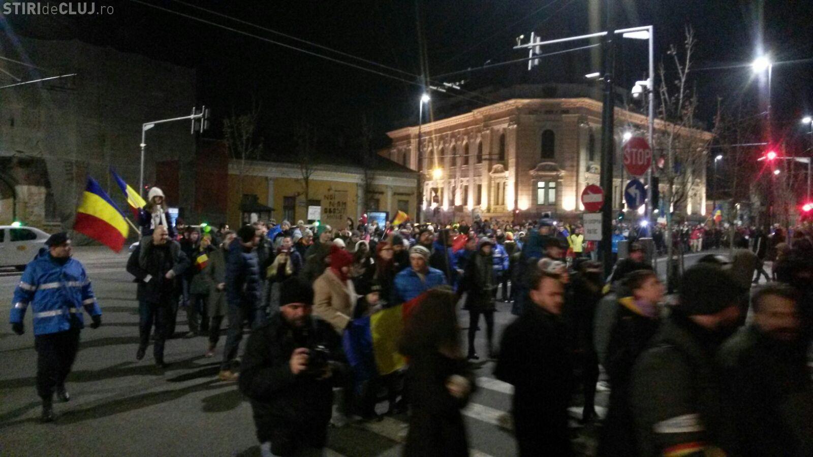 Un nou protest la Cluj, duminică seară. La ce oră începe