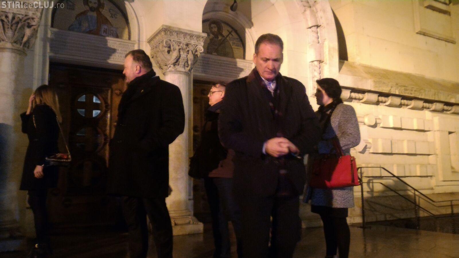 Fostul senator PSD Cluj Alexandru Cordoș și preotul Valentin Guia s-au rugat pentru unitatea românilor FOTO