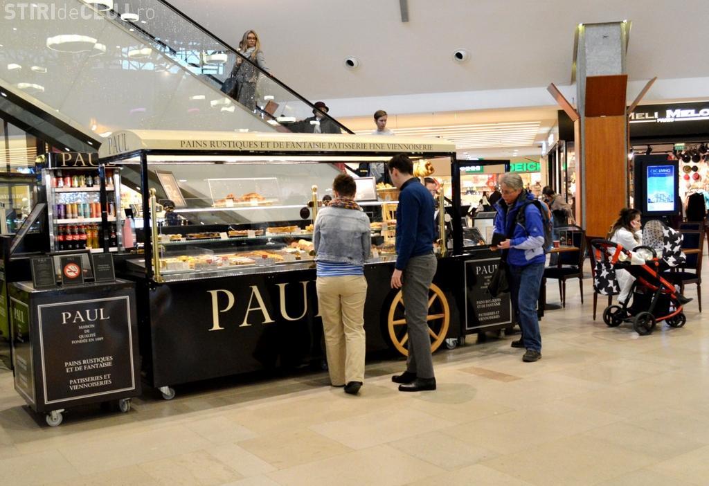 Lanțul franțuzesc de brutării Paul a deschis o locație și la Iulius Mall Cluj (P)