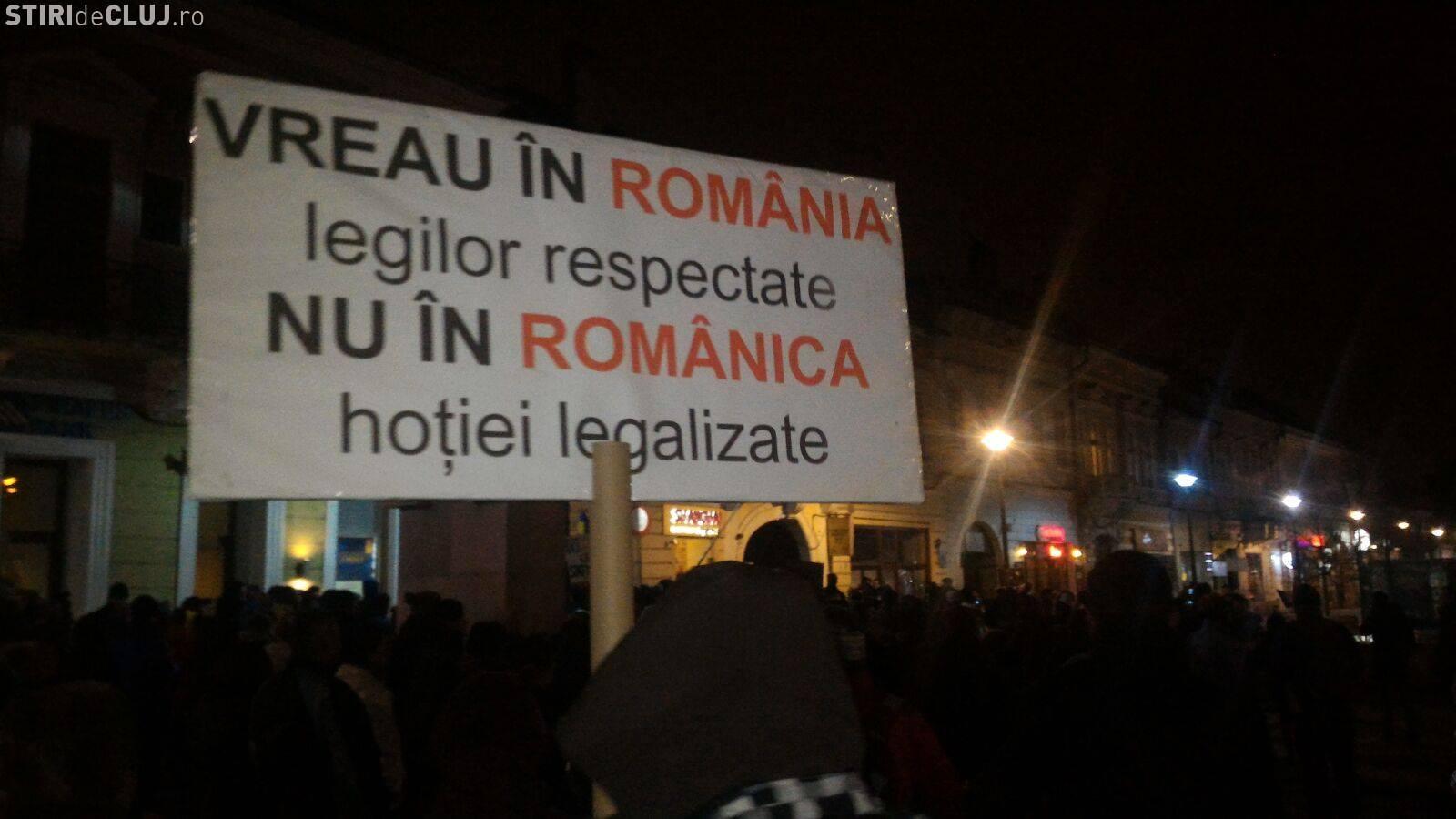 """Protest la Cluj, joi, de la ora 19.00: """"Cu ochii pe voi!"""""""
