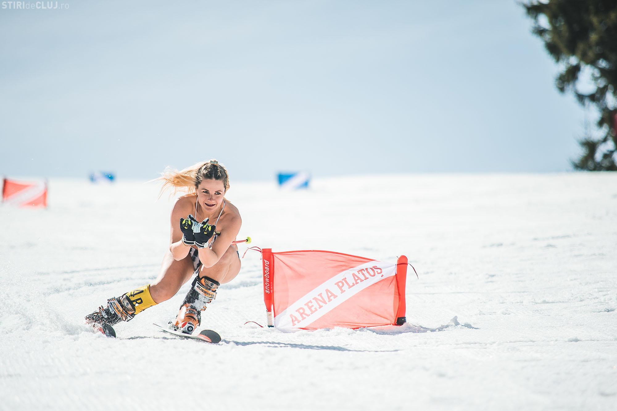 O clujeancă sexy a câștigat titlul Bikini Race, de la Arena Platoș - FOTO / VIDEO