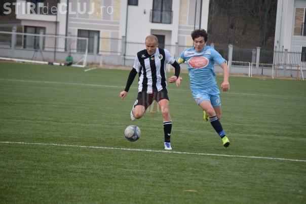 U Cluj a reușit un scor de handbal în meciul cu Viitorul Mihai Georgescu