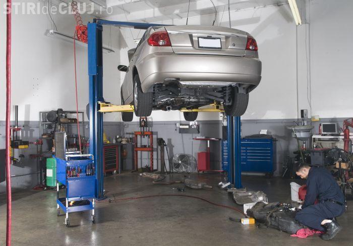 Cluj-Napoca: 20 de ateliere auto suspendate pentru nereguli