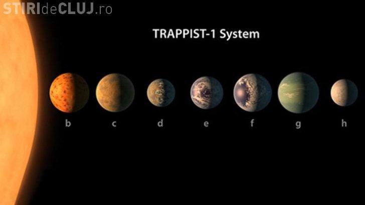 NASA a descoperit un sistem solar cu șapte planete asemănătoare Pământului. Sunt mari șanse de viață extraterestră