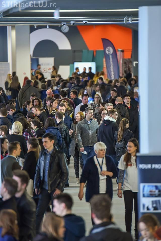 1.500 de IT -iști se pot angaja azi și mâine la Cluj, la Târgul de Cariere în IT