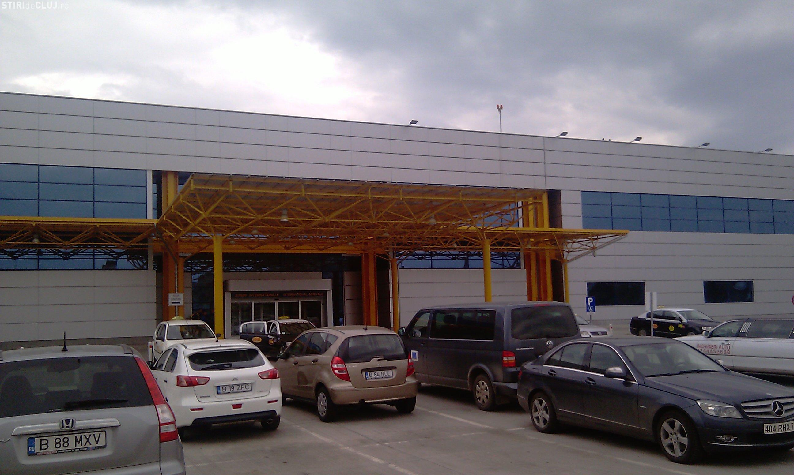 La Aeroportul Cluj va fi construit un parking cu 1500 de locuri