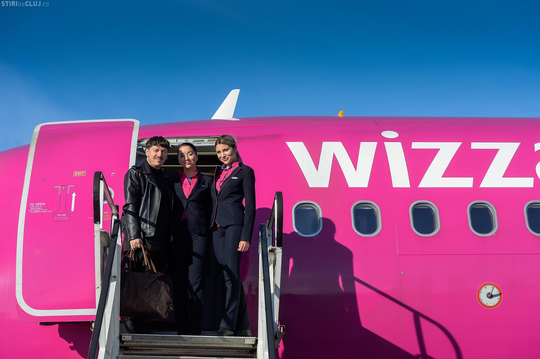 Wizz Air are un ANUNȚ important pentru Cluj. Au depășit 100.000 de pasageri