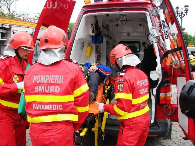 SMURD Cluj folosește ambulanțe învechite: La unele s-au schimbat toate piesele
