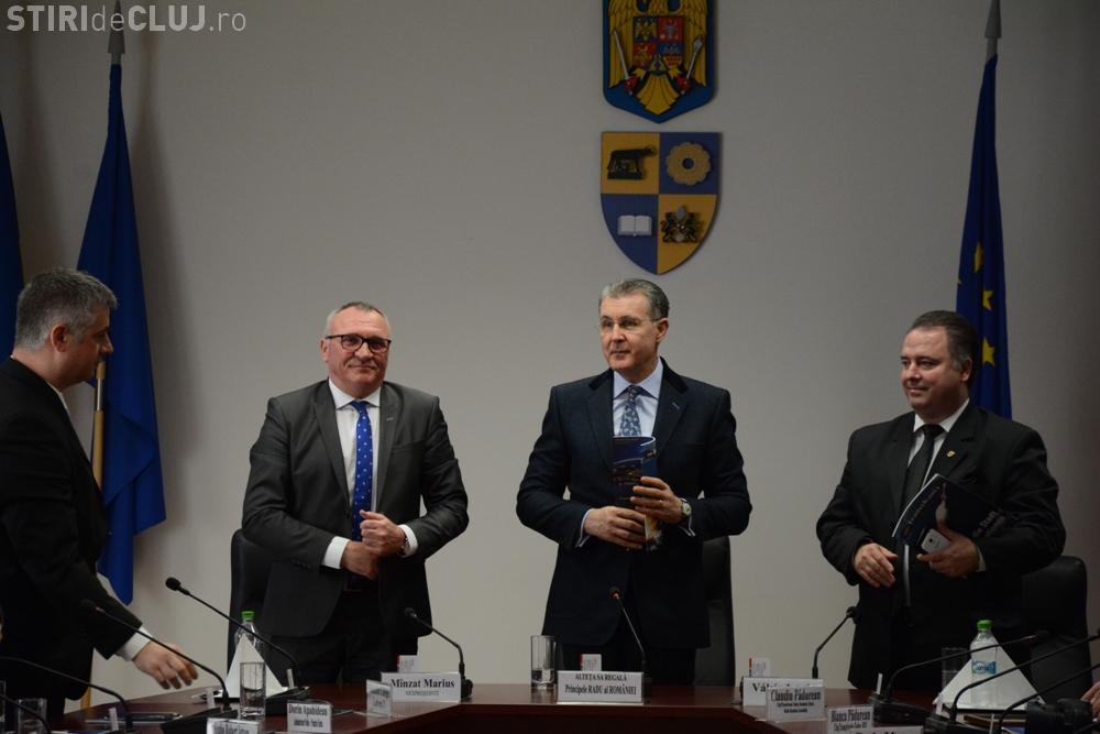 Alteţa Sa Regală, Principele Radu al României, în vizită de lucru la Consiliul Judeţean Cluj