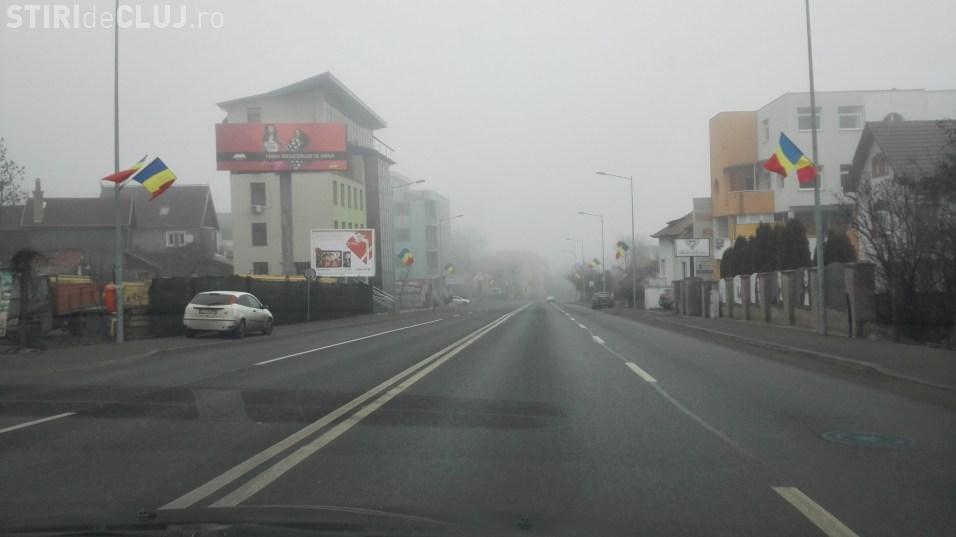 UPDATE Cod galben de ceaţă la Cluj