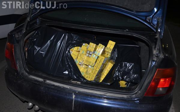 Clujean prins cu peste 100 de cartușe de țigări de contrabandă