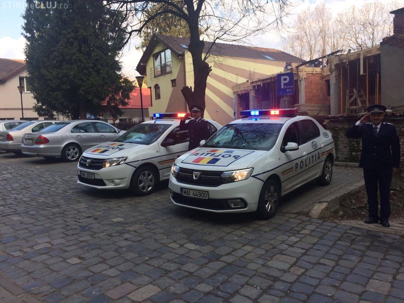 Moment de reculegere la Cluj, pentru polițiștii căzuți la datorie FOTO/VIDEO