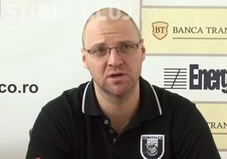 """U Banca Transilvania joacă miercuri cu CSU Sibiu, în Sala Sporturilor """"Horia Demian"""""""