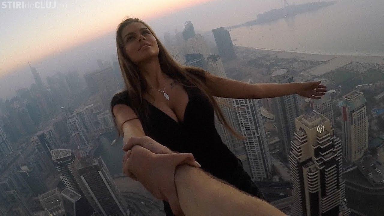 """""""Regina Instagramului"""" din Rusia a făcut imposibilul pentru o fotografie - VIDEO"""