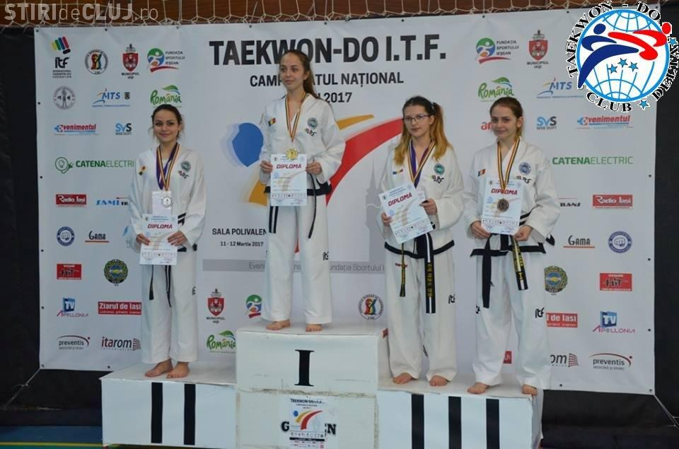 Clujul, reprezentat cu cinste la Campionatul National de Taekwon-do ITF
