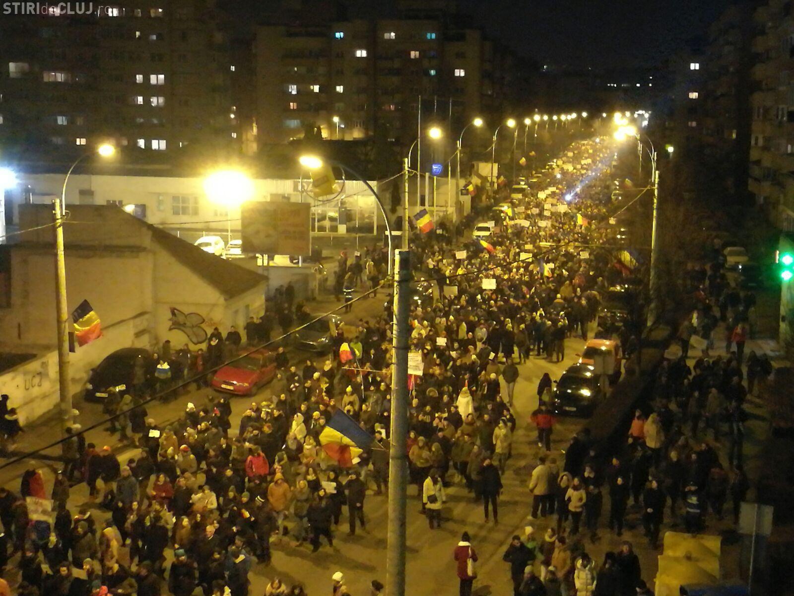 Protestele de la Cluj nu vor mai fi zilnice. Vezi când se iese în stradă
