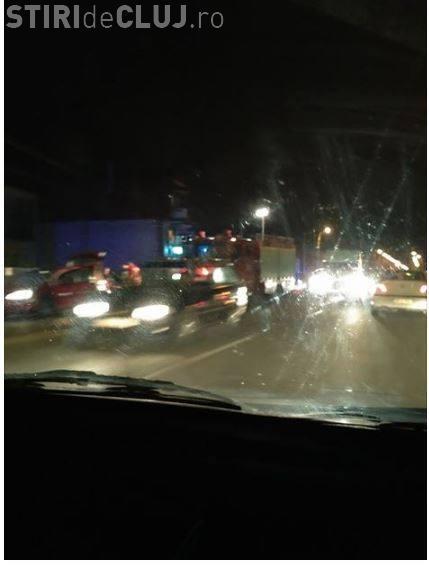 Accident mortal la Cluj. Un pieton a fost spulberat în Someșeni FOTO