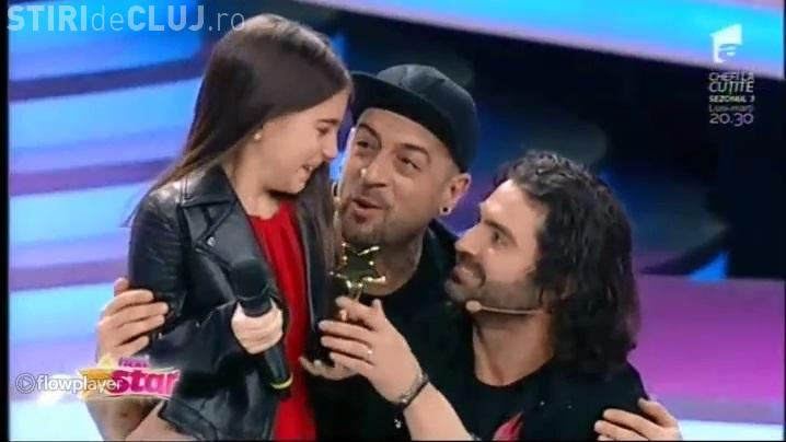 Katia Cărbune, din Cluj-Napoca, a fost la Next Star și a luat Golden Star. Pepe a fost ULUIT - VIDEO