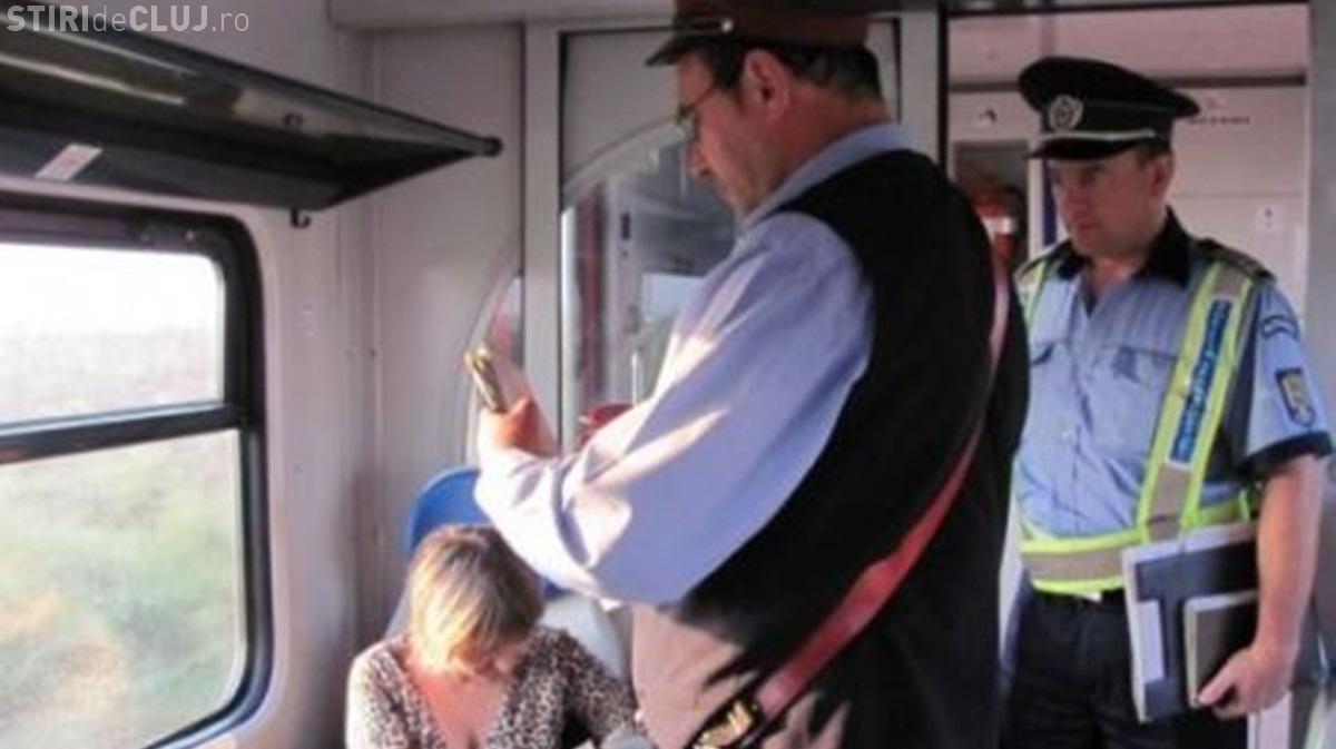 """Vânătoare de călători """"ilegaliști"""" pe trenurile din România"""