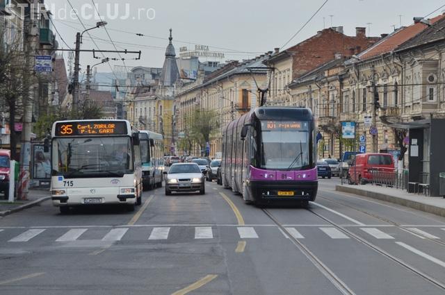 Cluj: Ce program au mijloacele de transport în comun în 1 Mai 2017