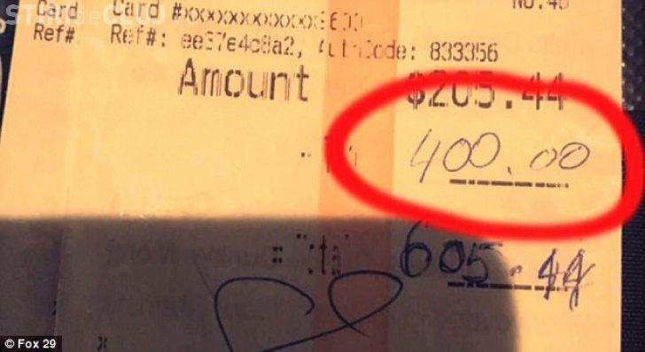 O chelneriţă a primit un bacşiş FABULOS. Clienții i-au pus o singură întrebare care i-a schimbat viaţa