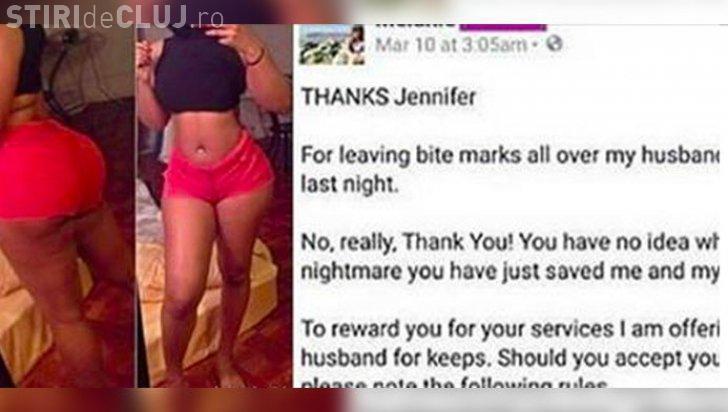 A aflat că soţul o înșeală și i-a scris amantei pe Facebook