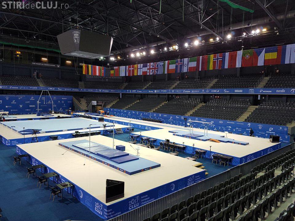 Gimnastică de 5 STELE la Cluj! Timelapse cu pregătirea sălii pentru marele concurs - VIDEO