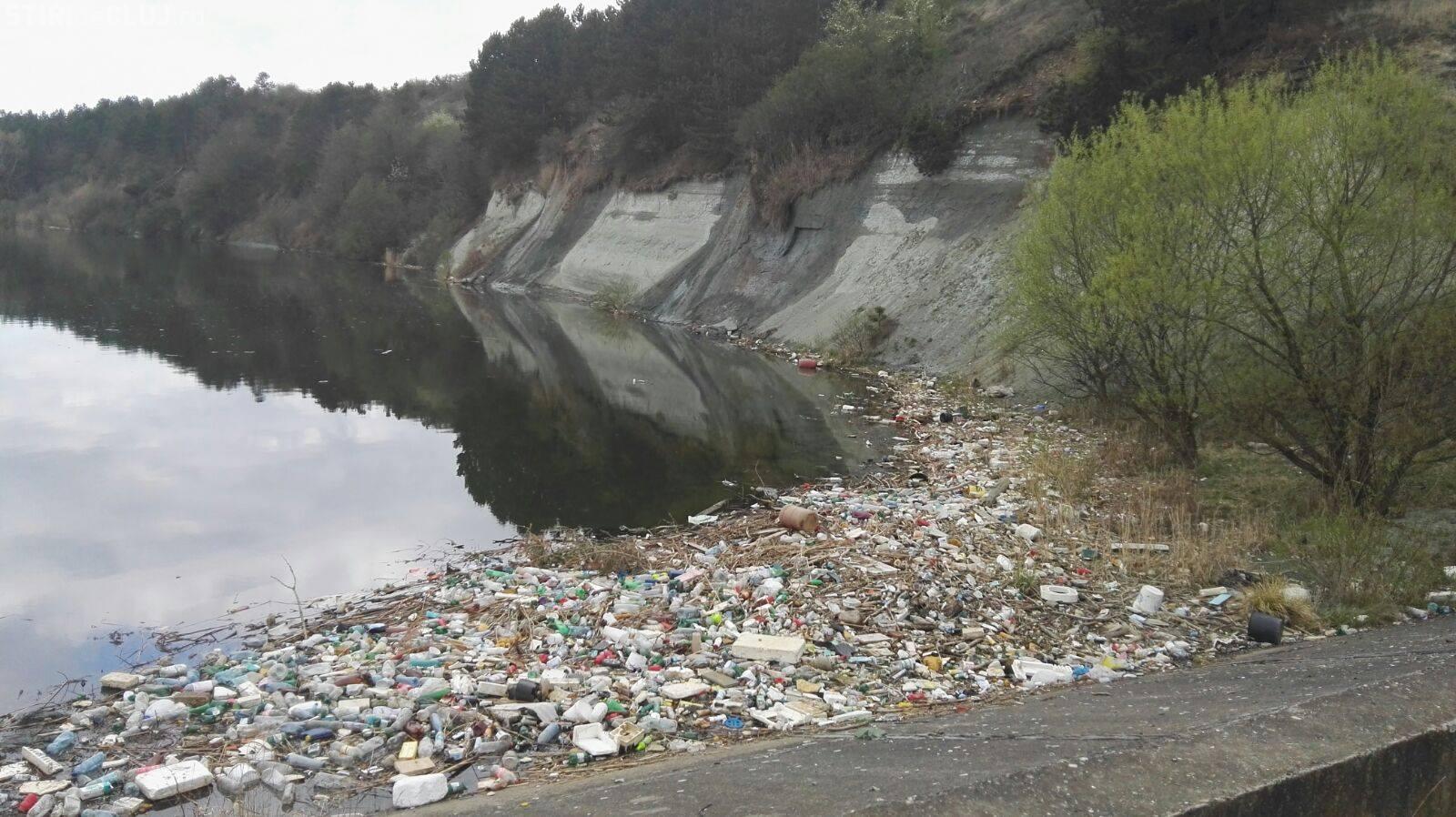 Așa arată răul Someș, la intrare în Florești: Cabanele din zona de munte sunt un pericol ecologic  - FOTO