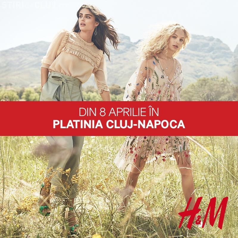 H&M deschide al 53-lea magazin din România la Cluj-Napoca! Inaugurarea vine cu reduceri speciale pentru clujeni (P)