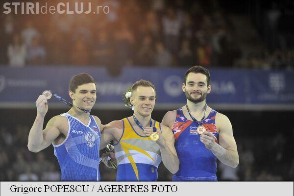 Gimnastică la Cluj: Ucraineanul Oleg Verniaiev a luat AURUL la individual compus la Europenele de la Cluj-Napoca