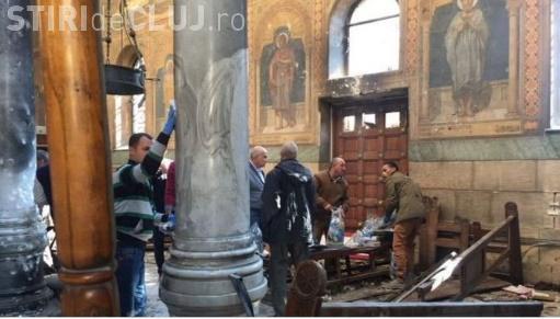 Explozie la o biserică din Egipt, în ziua de Florii. Sunt peste 20 de morți și 50 de răniți