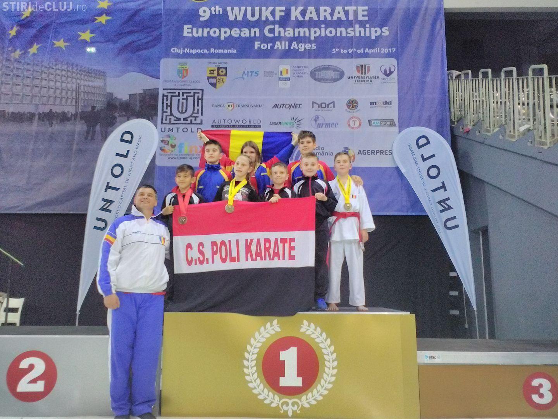 Campionatul European de Karate WUKF la Cluj. Ce rezultate au avut sportivii clujeni