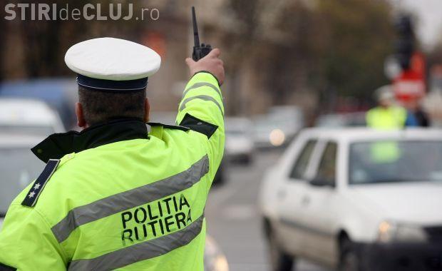 Sute de amenzi date de polițiști la Cluj