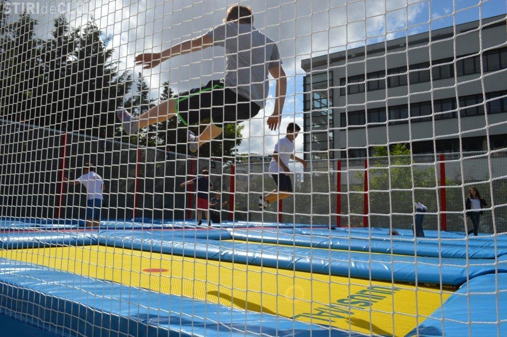 Începe distracția în Iulius Parc, din acest weekend: Sărituri pe trambuline și eveniment de muzică, magie și film