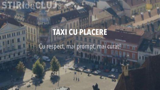 """Taximetriștii clujeni protestează """"împotriva transportatorilor neautorizati"""""""