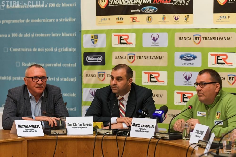 Raliul european debutează pe drumurile județene din Cluj - FOTO