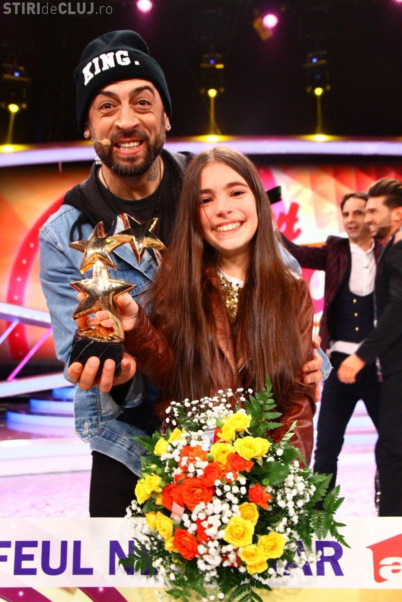 """""""Micuța Mozart"""" din Cluj, Katia (11 ani), a câștigat finala Next Star, iar emisiunea a fost lider de audiență"""