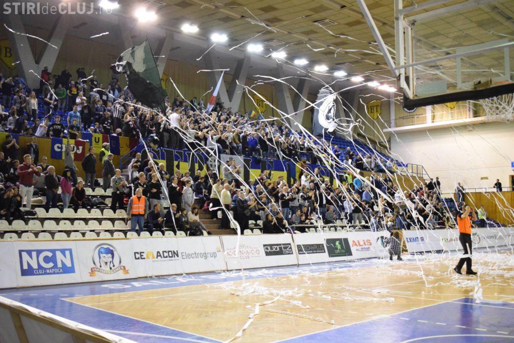 """U Cluj joacă finala campionatului feminin de baschet în Sala Sporturilor """"Horia Demian"""""""