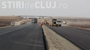 ATENȚIE, șoferi! Se lucrează pe tronsonul de autostradă Gilău Turda